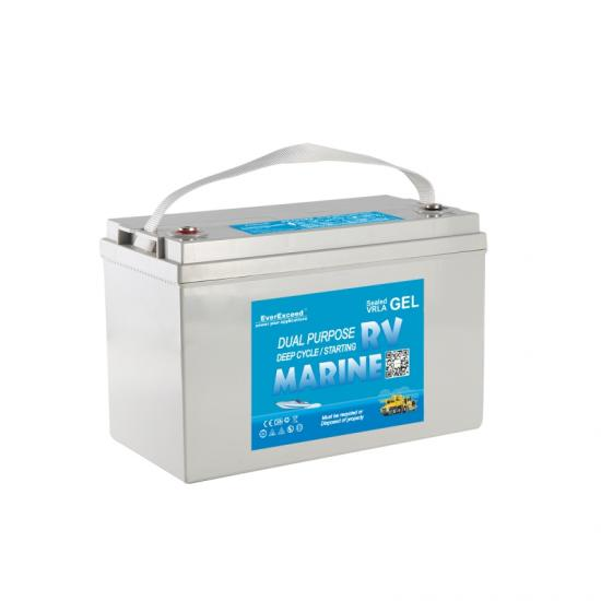 12V  Marine gel battery